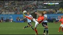 Jalkapallon MM 2014 Välierä NED - ARG