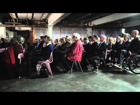 Lezing van Aart Oxenaar tijdens de boekpresentatie van Kees Rijnboutt