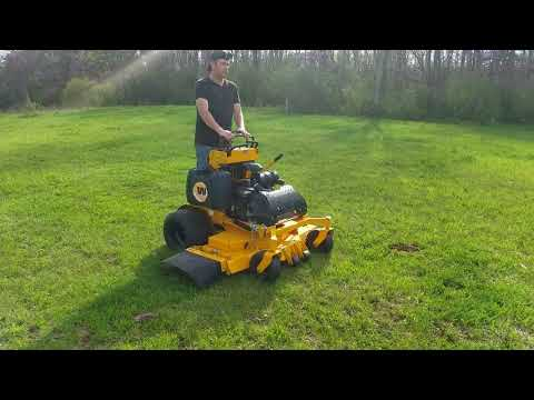 """2014 Wright Stander w/ 52"""" Deck Commercial Lawn Mower For Sale: Mowing Grass!"""