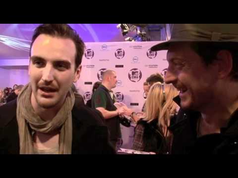 MTV EMA red carpet - Snow Patrol interview
