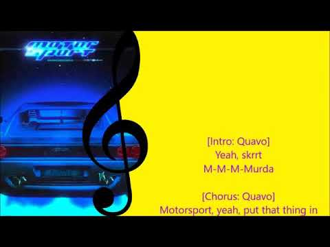 Download Migos- motorsport lyrics
