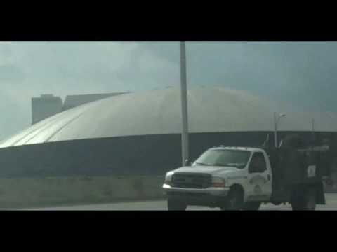 Dome In New Orleans Covered In Oil