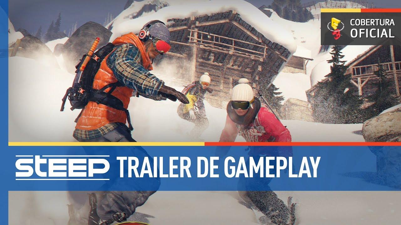 Steep Gameplay Comentado E3 2016 Youtube