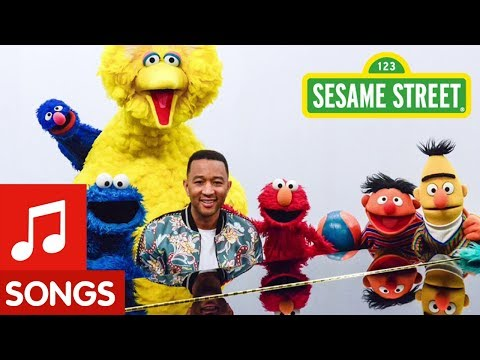 Sesame Street: John Legend Come Together Song
