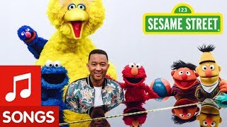Sesame Street: Come Together Song with John Legend