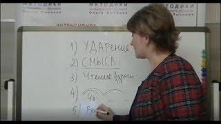 Как убрать слоговое чтение в домашних условиях - два приёма от Ольги Лысенко