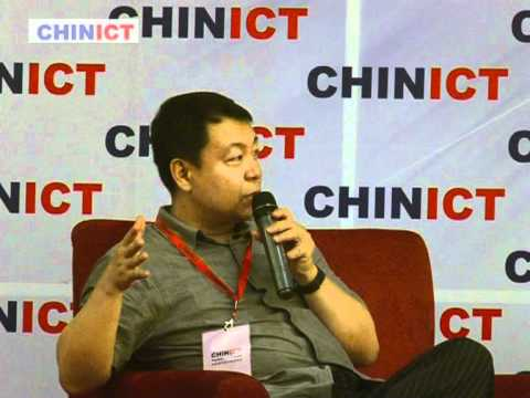 Pplive / Pptv CEO speaks at CHINICT.