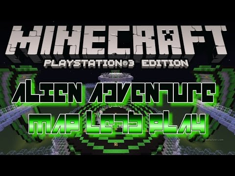 ALIEN ADVENTURE MAP LETS PLAY DOWNLOAD MINECRAFT PS PS EU US - Minecraft ps3 us disc maps