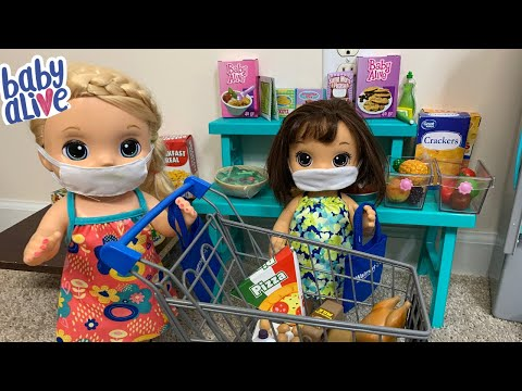 Baby Alive Goes Grocery Shopping