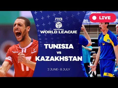 Tunisia v Kazakhstan - Group 3: 2017 FIVB Volleyball World League