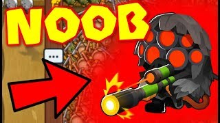 When You Try To Go LATEGAME With A NOOB... (Bloons TD Battles)