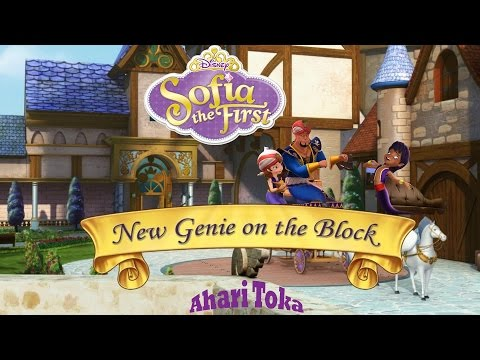 Sofia the First New Genie on the Block New Episodes 2015.