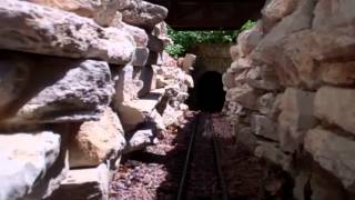A Visit To The Ragtime & Garden Springs Garden Railroad: Scenes and Engineer