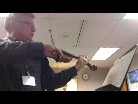 Woodland Caprice by Frederick Muller viola solo