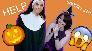 MY MOM CHOOSES MY HALLOWEEN COSTUMES (SURPRISING OUTCOME)!!!