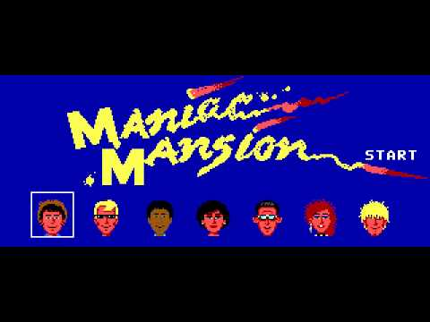 Maniac Mansion - PC Speaker Theme