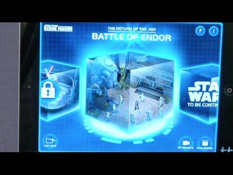 Star Wars Scene Maker from Disney
