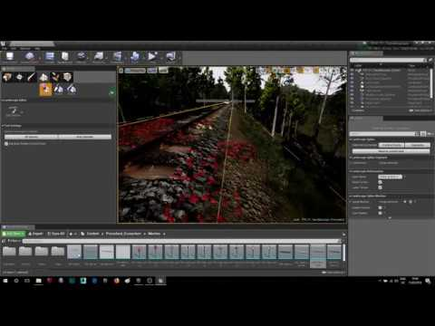 Creating Real World Landscapes in UE4 from Maps (GIS Data)