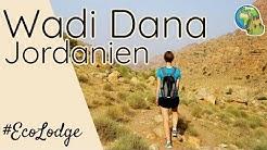 Dana Trail Wanderung ● Feynan Eco Lodge ⦿ Jordanien Reise Vlog # 7
