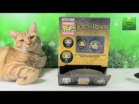 LOTR Lord Of The Rings Funko Pocket Pop Keychain Unboxing | CollectorCorner