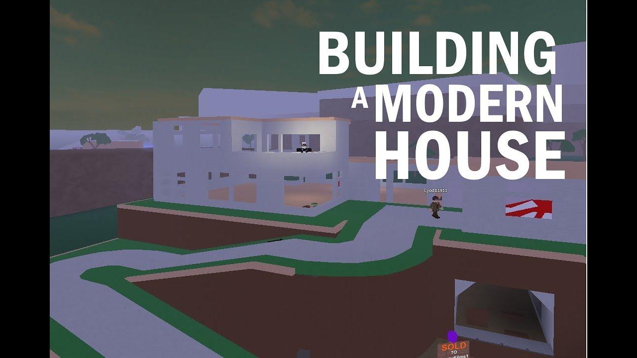 Lumber Tycoon 2 Building A Modern House Roblox Doovi