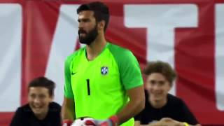 Alisson Becker • Insane Saves & Reflexes 2018/19