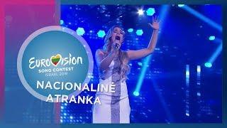 """Paola Hart - """"I'll Be Alright"""" - Nacionalinė Eurovizijos atranka"""