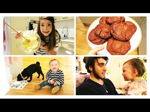 Baking Cookies & Cute Kids Go Crazy