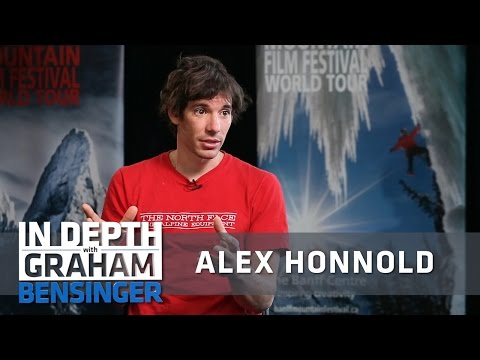 Climber Alex Honnold on living at poverty level