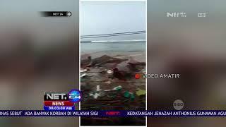 Download Video Video Detik detik Tsunami di Pesisir Palu - Net 24 MP3 3GP MP4