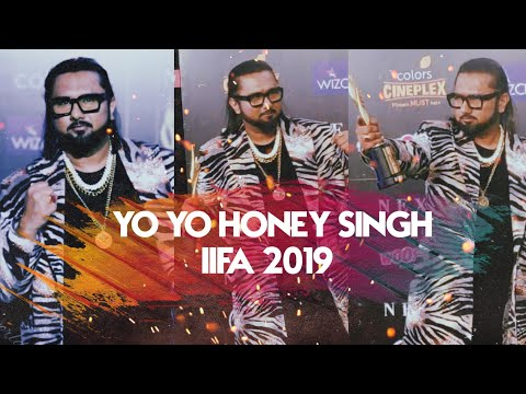 yo-yo-honey-singh-at-iifa-2019-|-won-his-first-iifa-award
