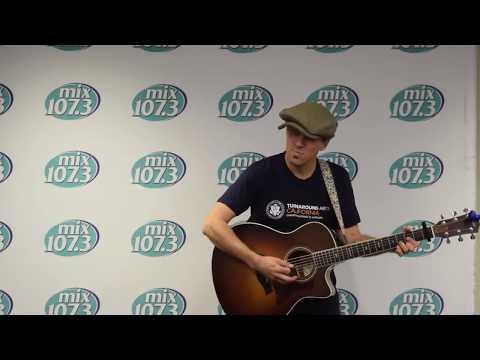 Jason Mraz - 93 Million Miles (Live on Mix 107.3)