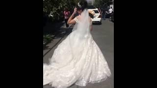 Невесту уводят из дома / Шикарная армянская свадьба в Ереване 2018