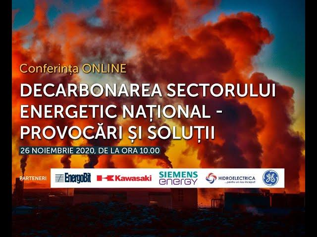 Decarbonarea sectorului energetic national