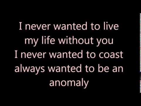 Angels & Airwaves - Anomaly (lyrics)