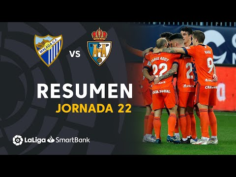 Malaga Ponferradina Goals And Highlights