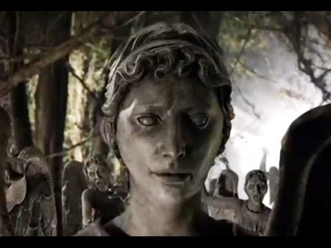 Weeping Angels Fall Into The Crack - Flesh and Stone - Doctor Who - BBC