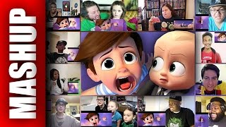 THE BOSS BABY Official Trailer Reactions Mashup