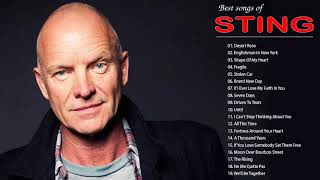 ... sting collection - best of songs full playlist 2018sting full...