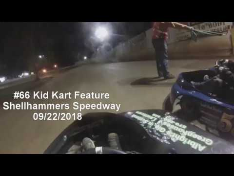 #66 Kid Kart Feature, Shellhammers Speedway 09/22/2018