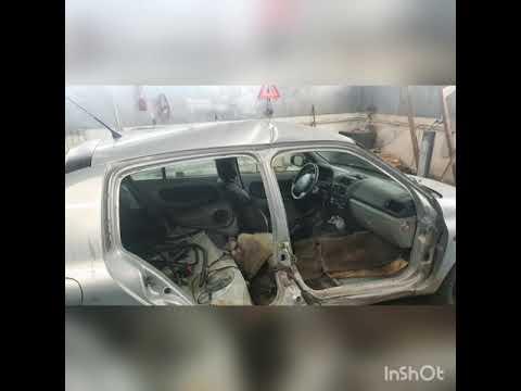 Ремонт Renault после ДТП часть 1
