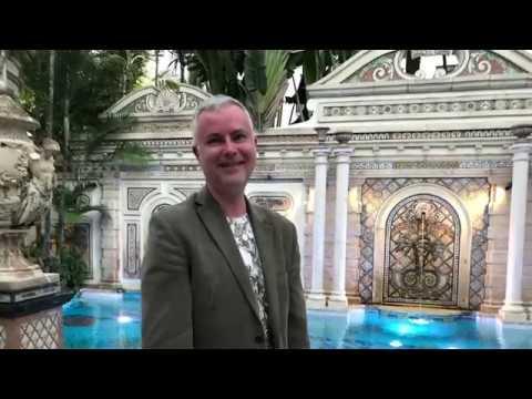 Miami Star Island Celebrity Homes Thriller Speedboat Versace Mansion
