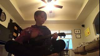 Ukelele but there's a power outage and my carbon monoxide alarm randomly goes off ASMR