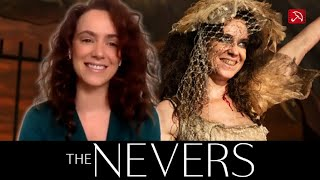 Amy Manson THE NEVERS interview   HBO, HBO Max, Sky