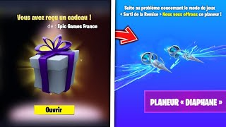 WHAT TO BE FREE THE DIAPHANE PLANOR AND 1200 VBUCKS ON FORTNITE: BATTLE ROYALE!