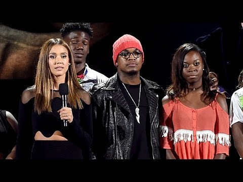 Justin Timberlake y Jessica Alba contra la violencia racial