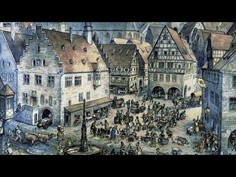 Die Stadt Im Späten Mittelalter - Handel, Handwerk, Marktgeschehen