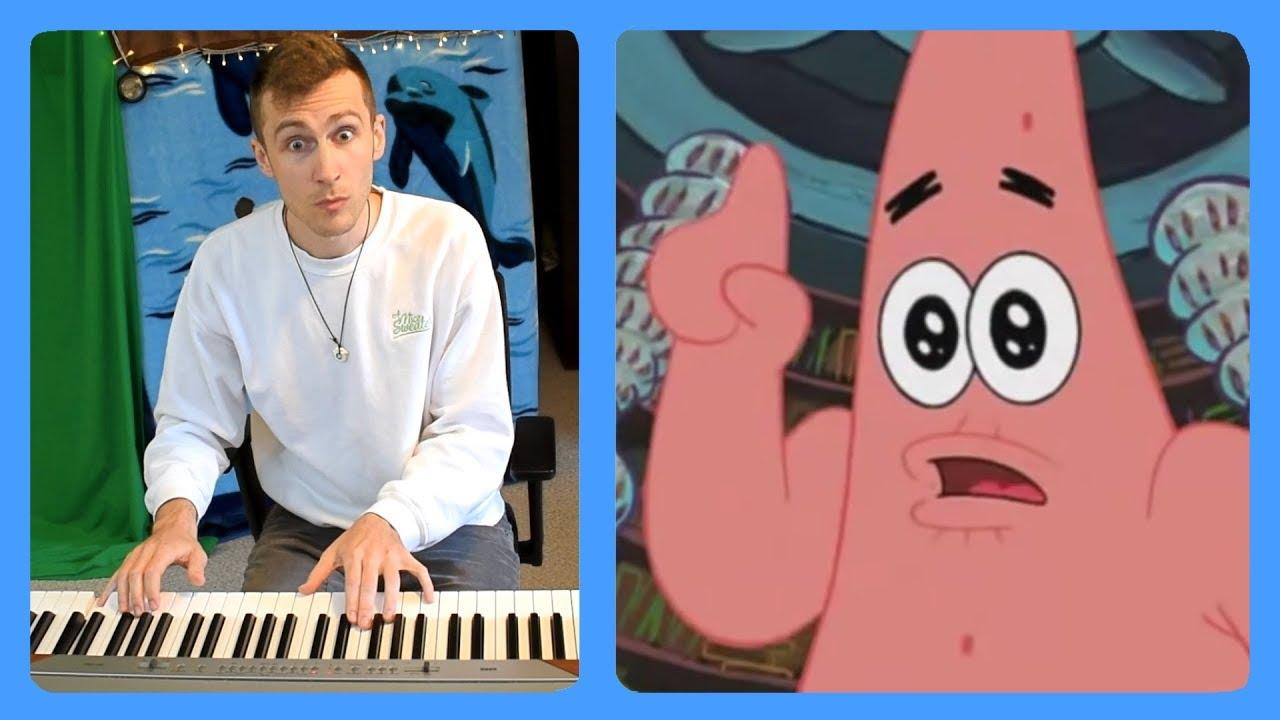 The Ugly Barnacle (Spongebob Squarepants) Piano Dub
