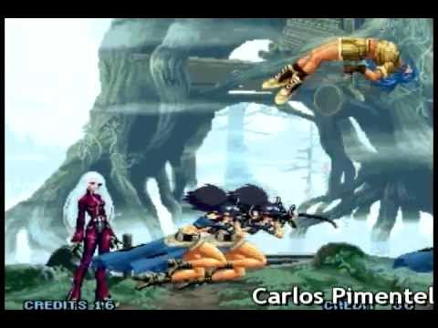Combos 100% The King of Fighters 10th Anniversary Unique (KOF 2005) - Carlos Pimentel