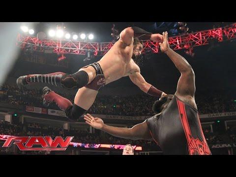 Neville vs. Mark Henry: Raw, November 23, 2015